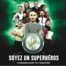 Soyez un superhéros de la persévérance scolaire!